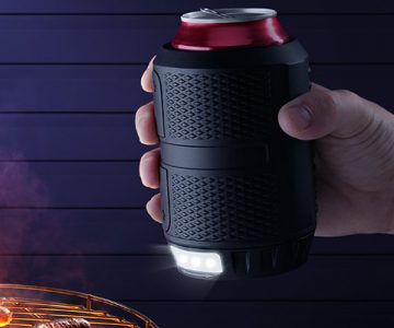 Nite Ops Drinks Can Cooler with LED Light