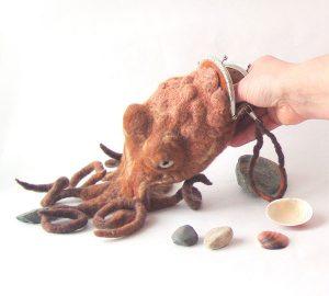 Octopus Purse Bag