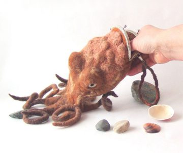 Octopus Purse Bag