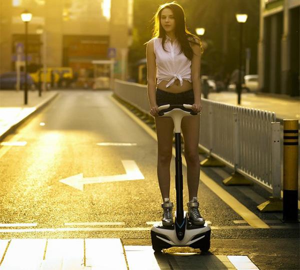 Self Balancing Electric Sensor Controlled Vehicle