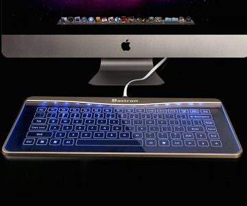 Smart Touch Glass Keyboard with Mouse