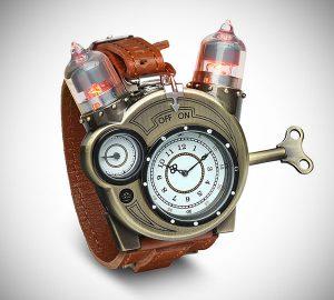 Steampunk Tesla Watch