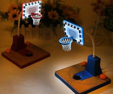 Basketball Field Reading Light