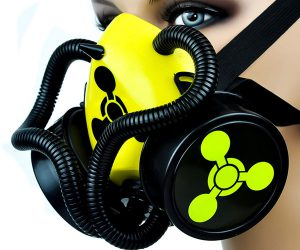 Bio Sign Tubes Cosplay Gas Mask