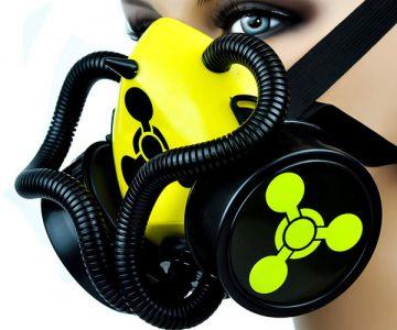 Bio Sign Tubes Cosplay Gas Mask