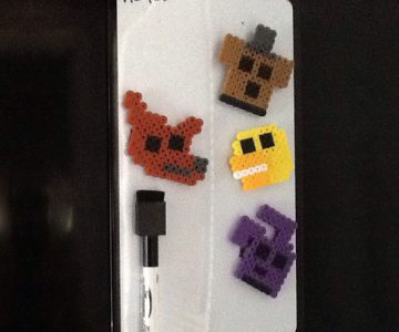 Five Nights at Freddys Magnet Set