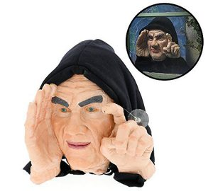 Halloween Scary Peeper Window Prop