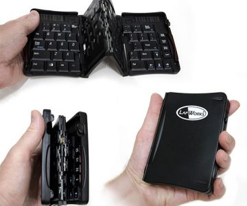 LapWorks Bluetooth Folding Keyboard Amigo