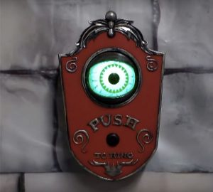 Light Up Talking Eyeball Doorbell