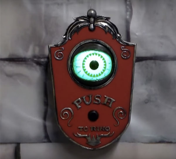 Light Up Talking Eyeball Doorbell