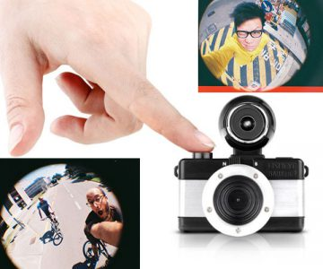 Lomography Fisheye Baby Camera