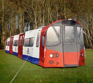 London Underground Tube Tent