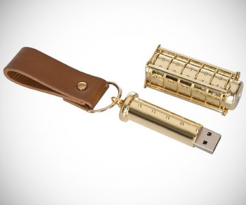 Special Edition Gold Cryptex USB Flash Drive
