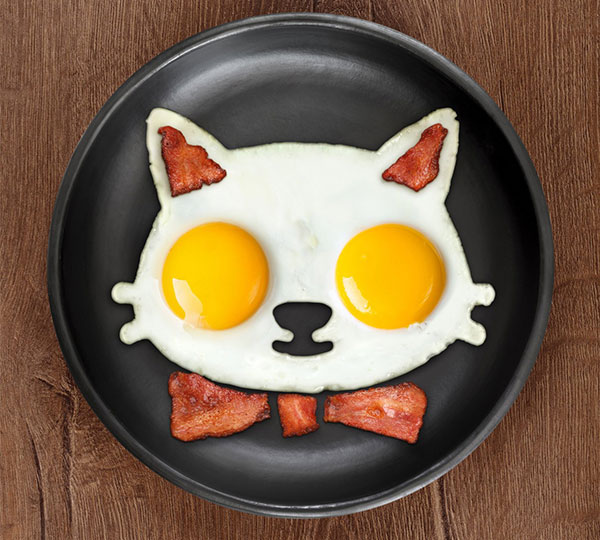 Cat Shaped Egg Mold
