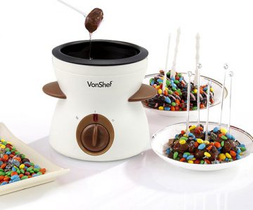 Chocolate Fondue Melting Pot