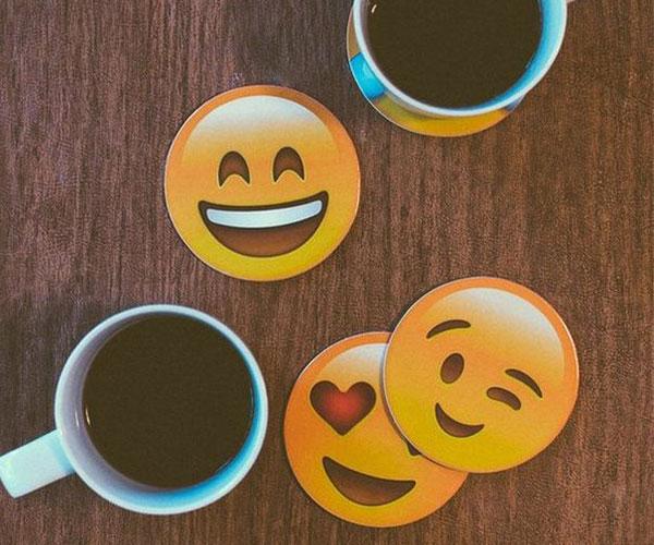 Emojis Stone Coasters