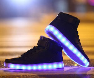 Fashion Sneakers with LED Lights