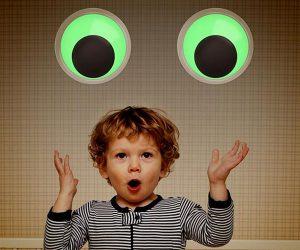 Giant Glow in the Dark Googly Eyes