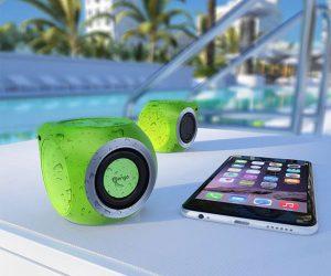 Mengo AquaCube Waterproof Portable Bluetooth Speaker