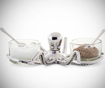 Octopus Salt and Pepper Cellar