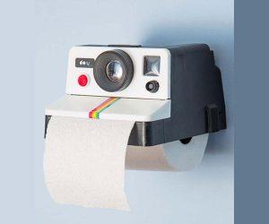 Retro Camera Toilet Paper Roll Holder