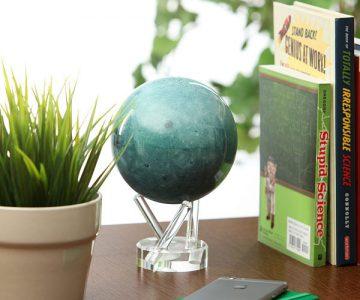 Spinning Moon Globe