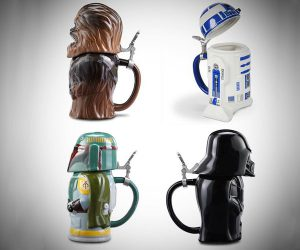 Star Wars Beer Steins Mugs