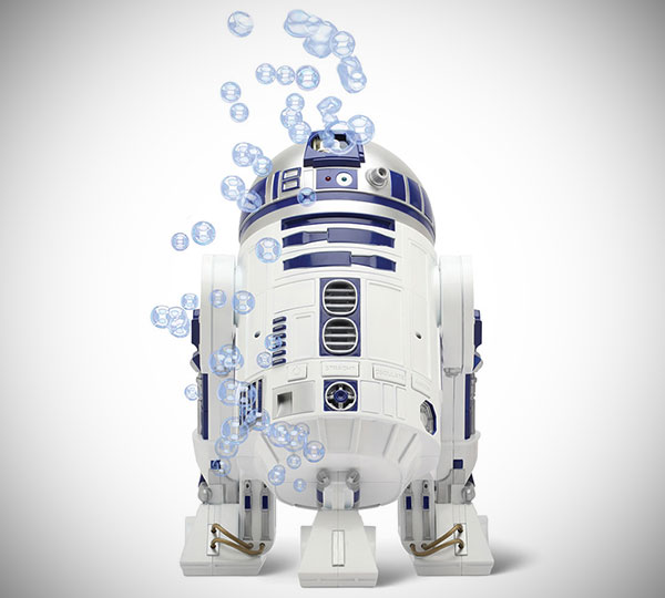 Star Wars R2 D2 Bubble Generator
