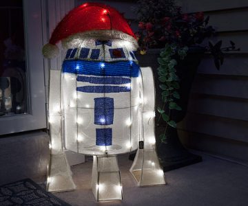 Star Wars R2-D2 Lighted Lawn Ornament