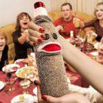 Wine Monkey Sock Bottle Caddy