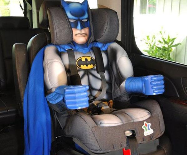 Batman Toddler Booster Child Car Seat