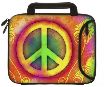 Designer Peace iPad and Tablet Sleeve