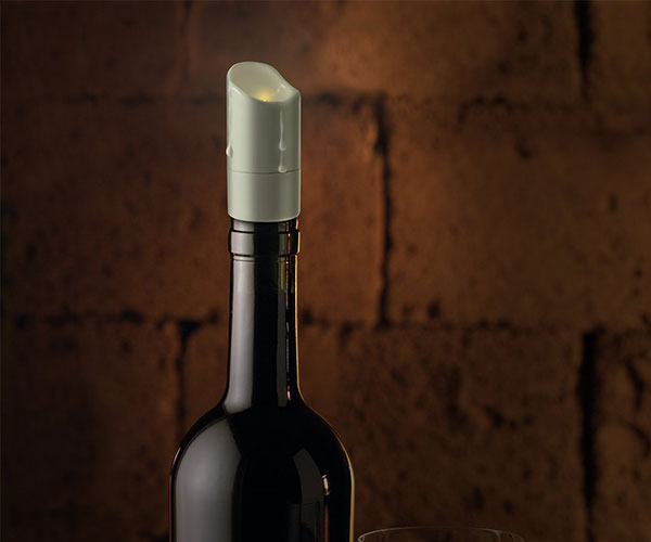 LED Candle Bottle Stopper
