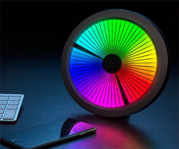 LED Color Spectrum Clock