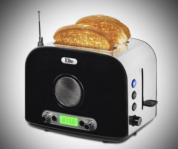 Multi-Function Radio Toaster