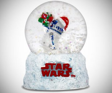 Star Wars R2-D2 Snow Globe