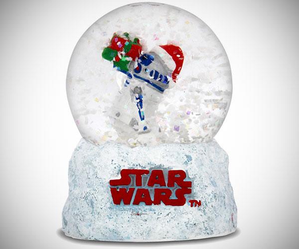 Star Wars R2-D2 Snow Globe