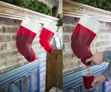 Secret Santa Flask Stockings