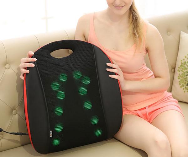 Shiatsu Back Massage Cushion with Heat