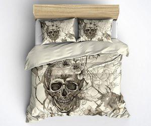 Skull Bedding Duvet Cover