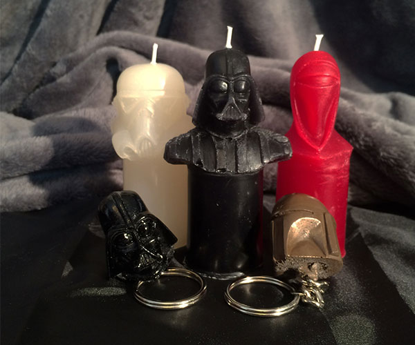 Star Wars Candle and Key Chain