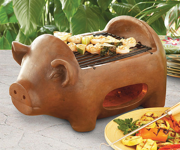 Terracotta Pig Grill