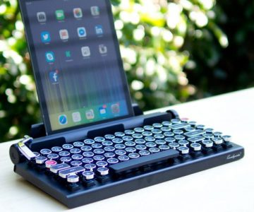 The Qwerkywriter Keyboard