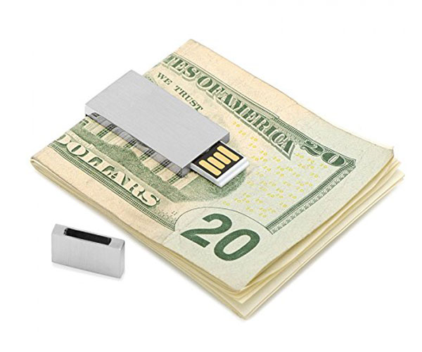 Fashion USB Flash Drive Money Clip