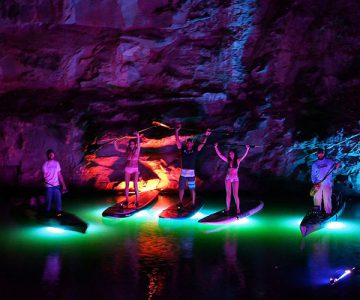 Underwater LED Lighting System for Kayaks & Canoes