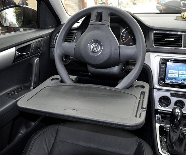 Vehicle Steering Wheel Tray
