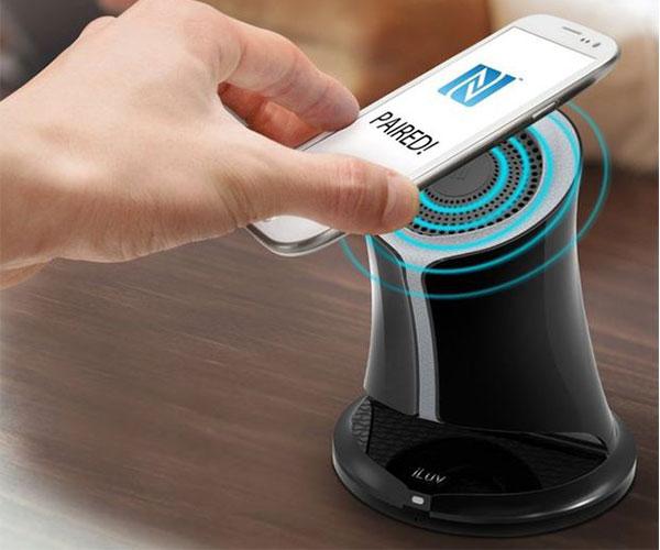 iLuv Syren Wireless NFC Enabled Bluetooth Speaker