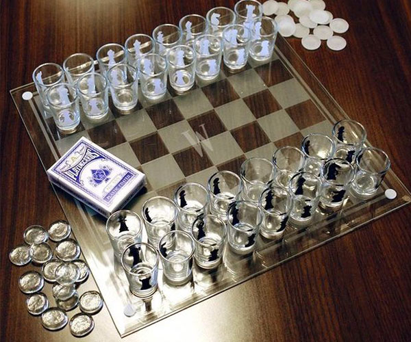 3 in 1 shot glass chess game set cool sh t i buy Where can i buy a chess game