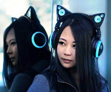 Cat Ear Headphones by Axent