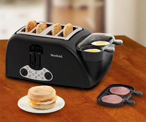 Egg and Muffin Toaster by West Bend